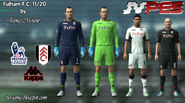 Fulham 2011 12 Para PES 2011 Download  Baixar Uniforme Do Fulham 2011