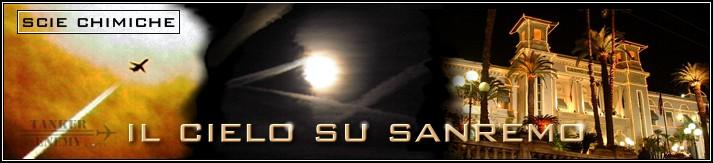 Il cielo su Sanremo