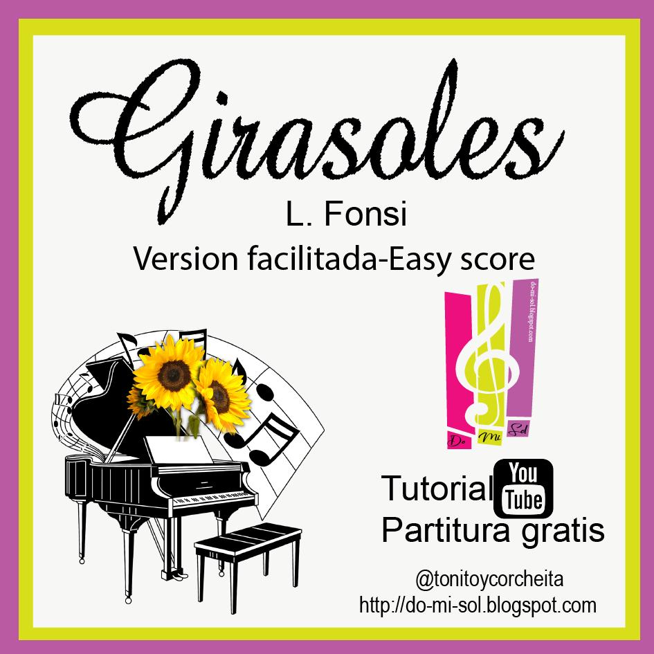 Girasoles - Tutorial