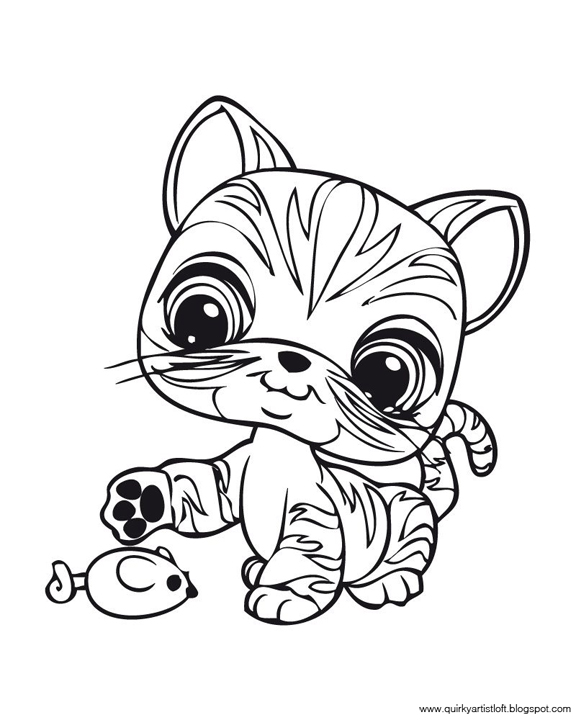 lps coloring pages to print - photo#35