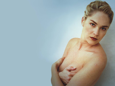 Sharon Stone Nude Wallpaper