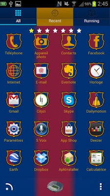 Barcelona Theme for Android