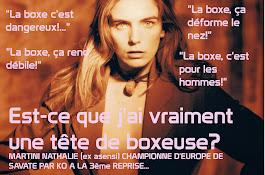 LA BOXE PAS FEMININE?