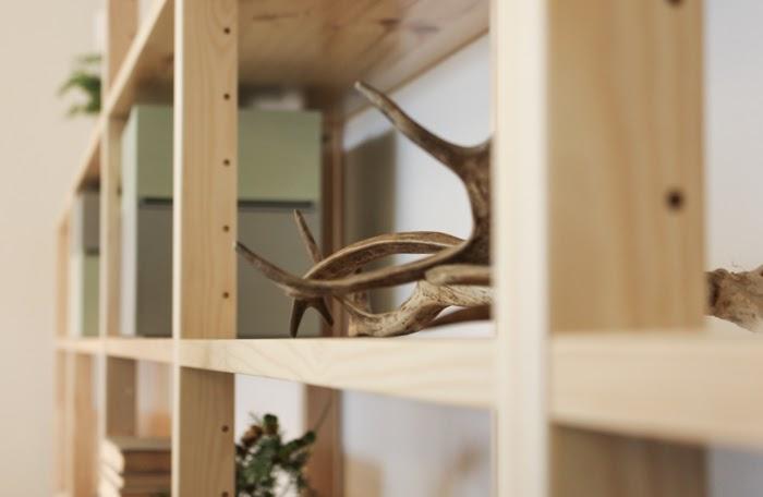 lundia kirjahylly, sarvet, sheds