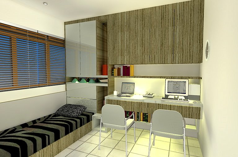 INTERIOR DESIGN small bedroom interior design