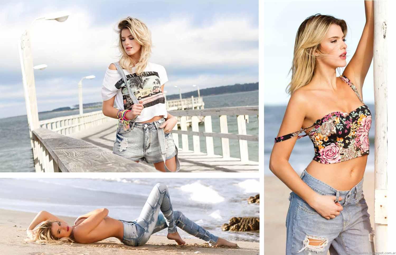 Moda 2015 AF Jeans. Moda primavera verano 2015 Argentina.