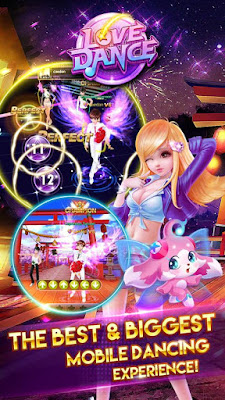 Love Dance 0.4.8 game for android terbaru