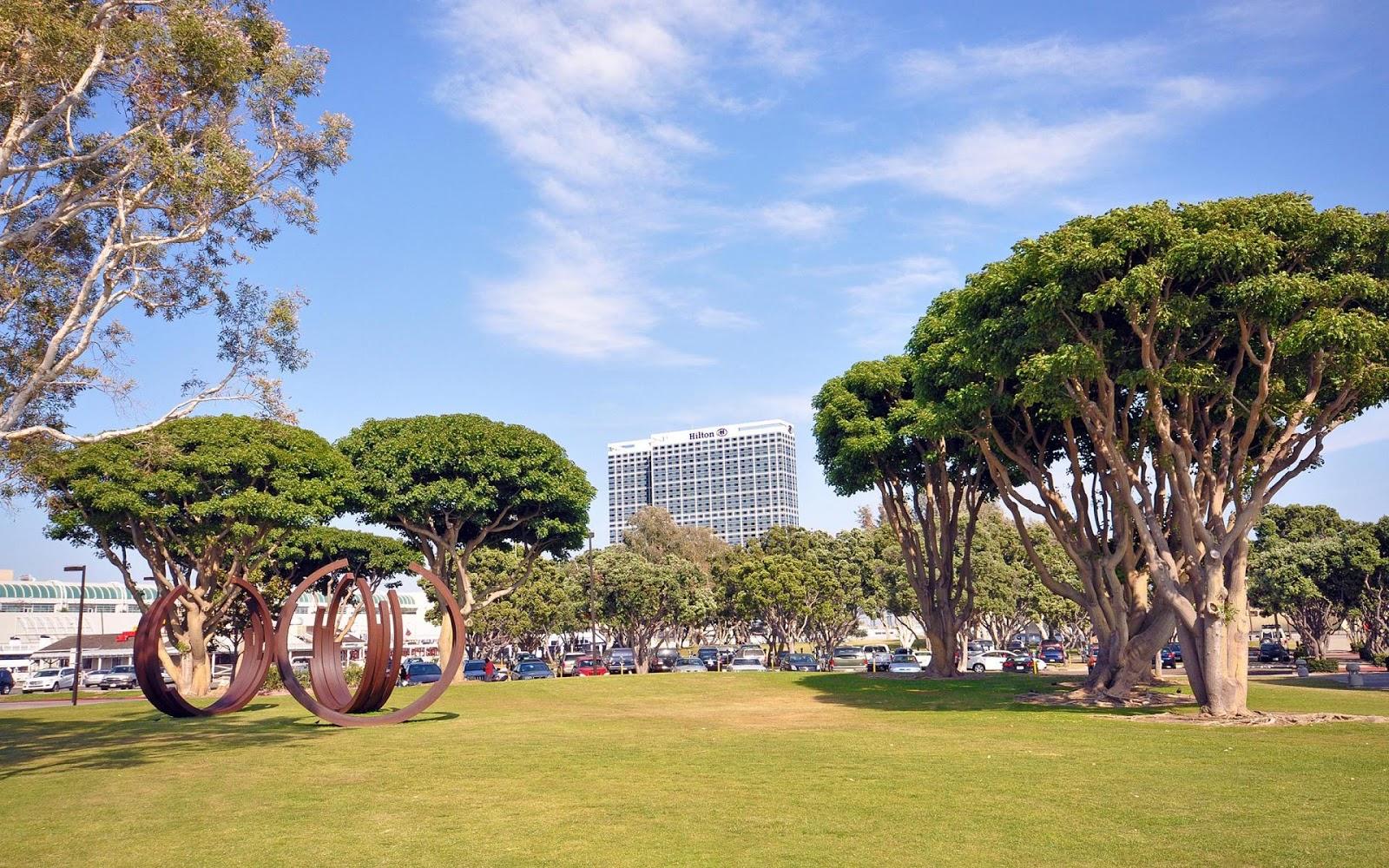 Marina Park Embarcadero San Diego