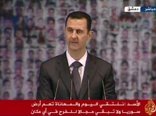 la proxima guerra discurso television bashar al assad siria al jazeera