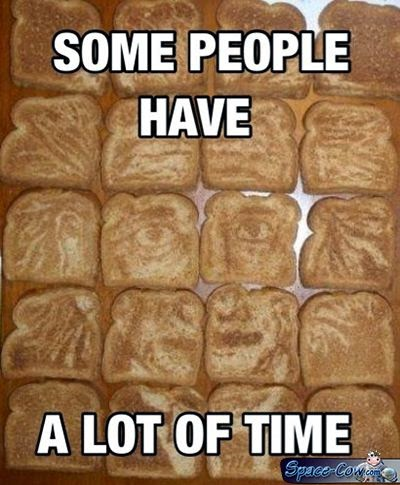 funny things bread picture