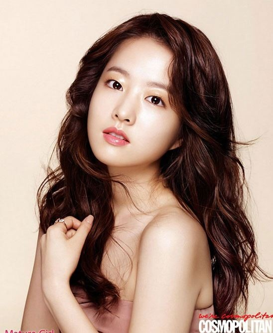 Attractive charms from park bo young korean celebrities today