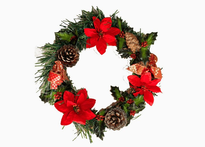 im genes lindas de coronas de adviento para navidad