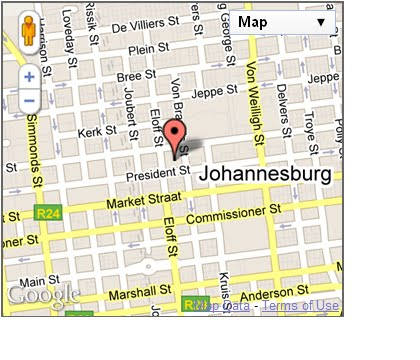 streets of johannesburg 2 A street map of Johannesburg central