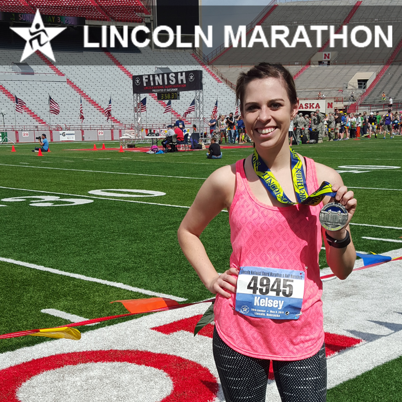 Keeping Up With Kelsey Lincoln National Guard Half Marathon