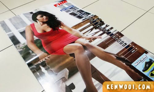 FHM calendar girl 2013 september