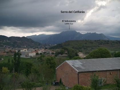 La Serra del Catllaràs i el Sobrepuny des d'Avià