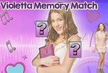 Violetta juego de memoria