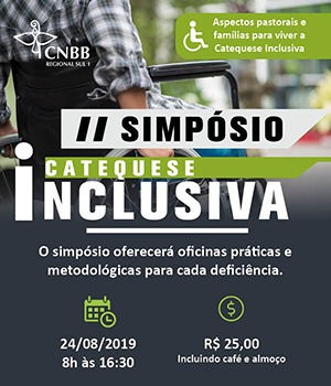 II SIMPÓSIO DE CATEQUESE –INCLUSIVA