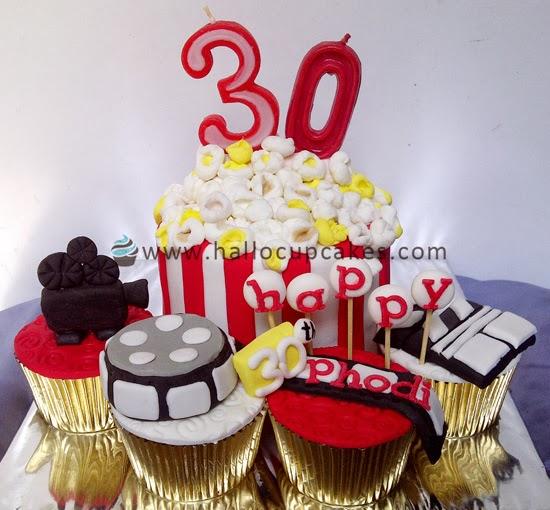 movie cake cupcake