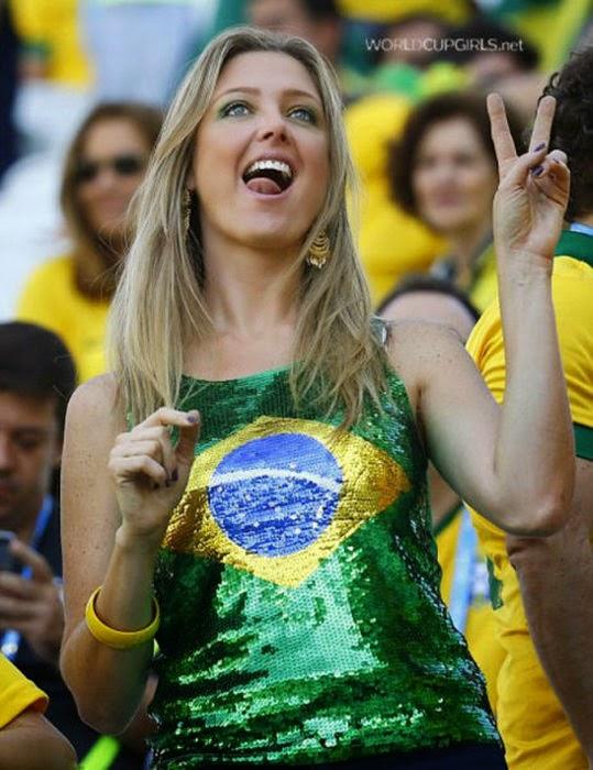 Beautiful brazilian girls afraid