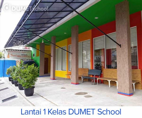 Situasi Halaman Depan Dumet School