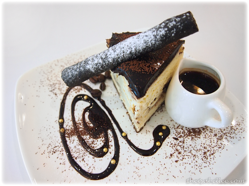 Coffee cheese cake at Signature Cafearo