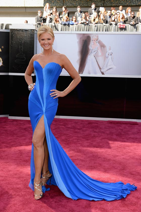 nancy o'dell oscars 2013