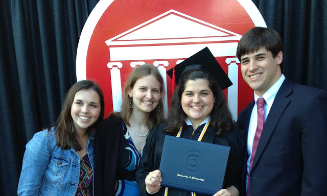 college graduation; university of mississippi; college bloggers; southern bloggers; sec bloggers