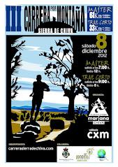 III Carrera x Montaña Sierra de Chiva