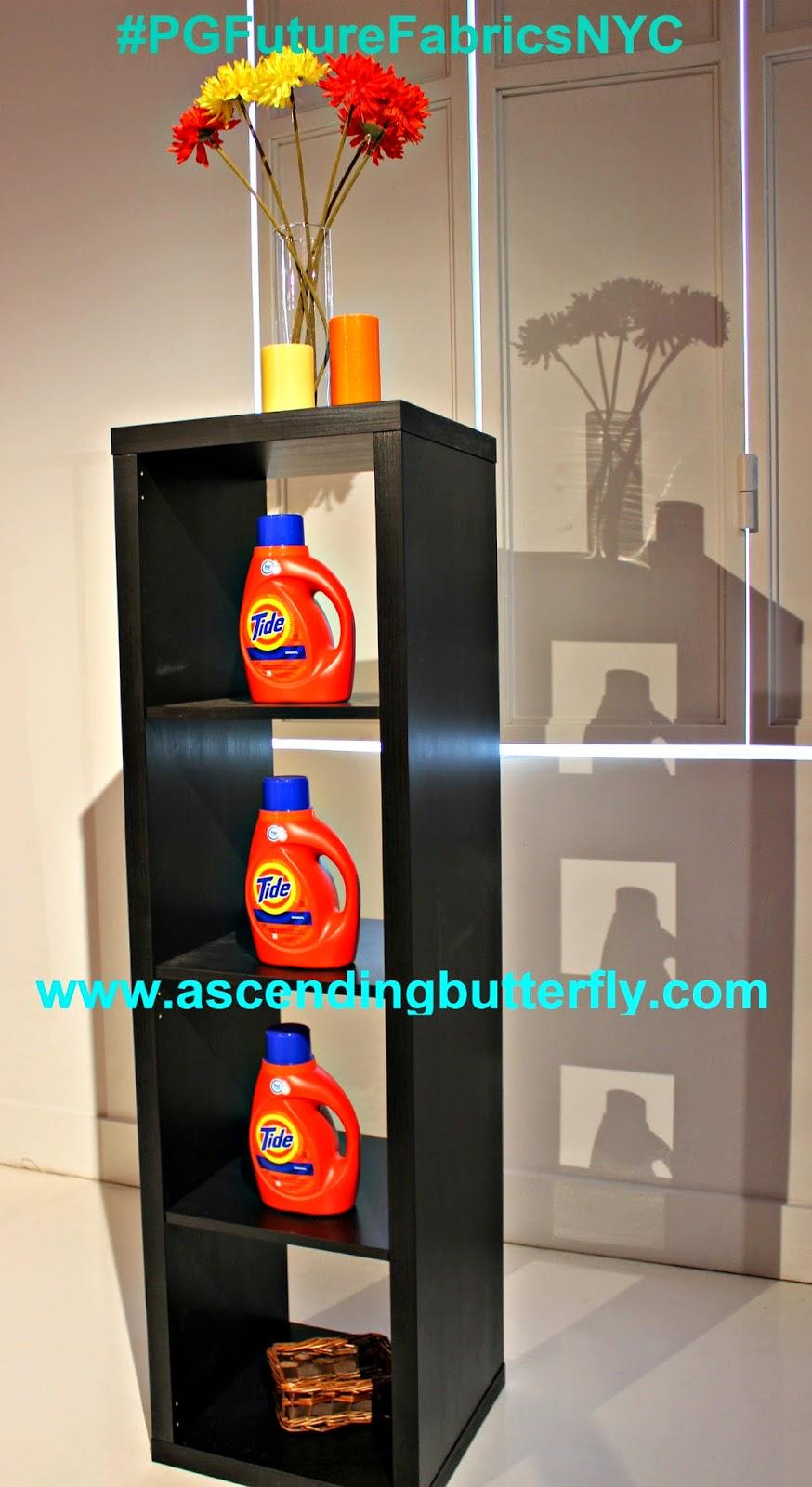 Display of Tide Products #PGFutureFabricsNYC