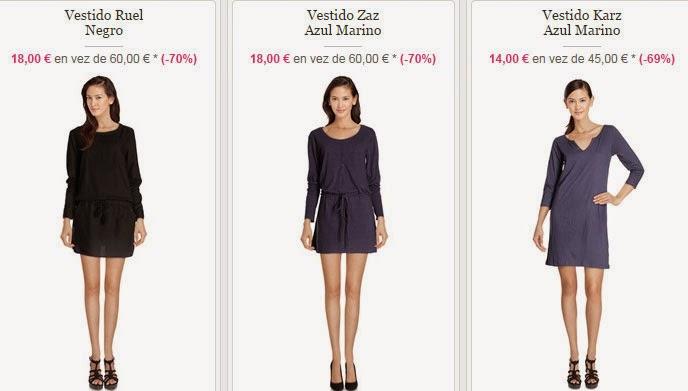 Algunos modelos de vestidos disponibles por 14 euros