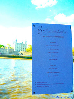 Electronic Sessions line up from the River Thames
