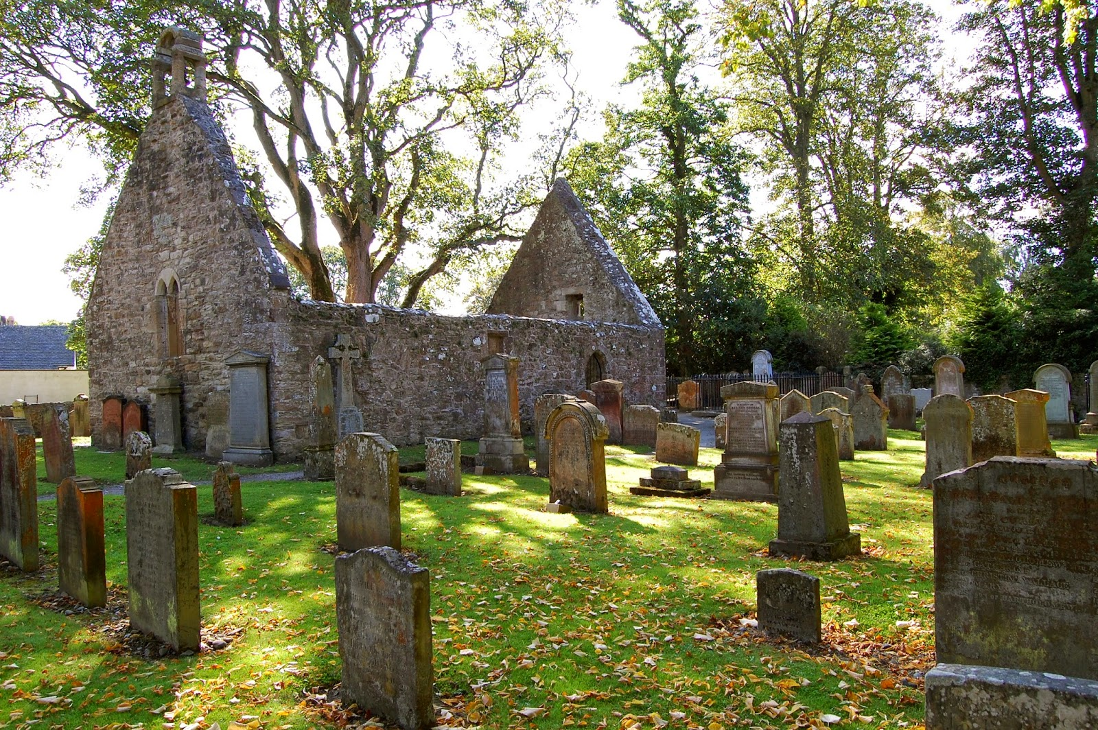 The old Alloway church