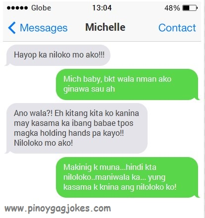 hindi man loloko syota o boyfriend philippine text fail