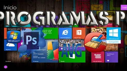 PRGORAMAS PC