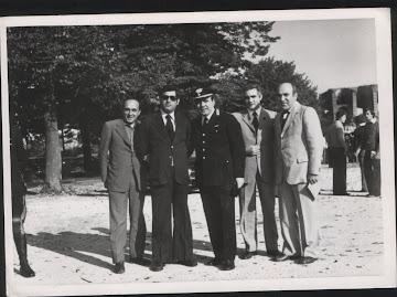 1970 - Con il Comandante dei Carabinieri di S. Maria C.V.