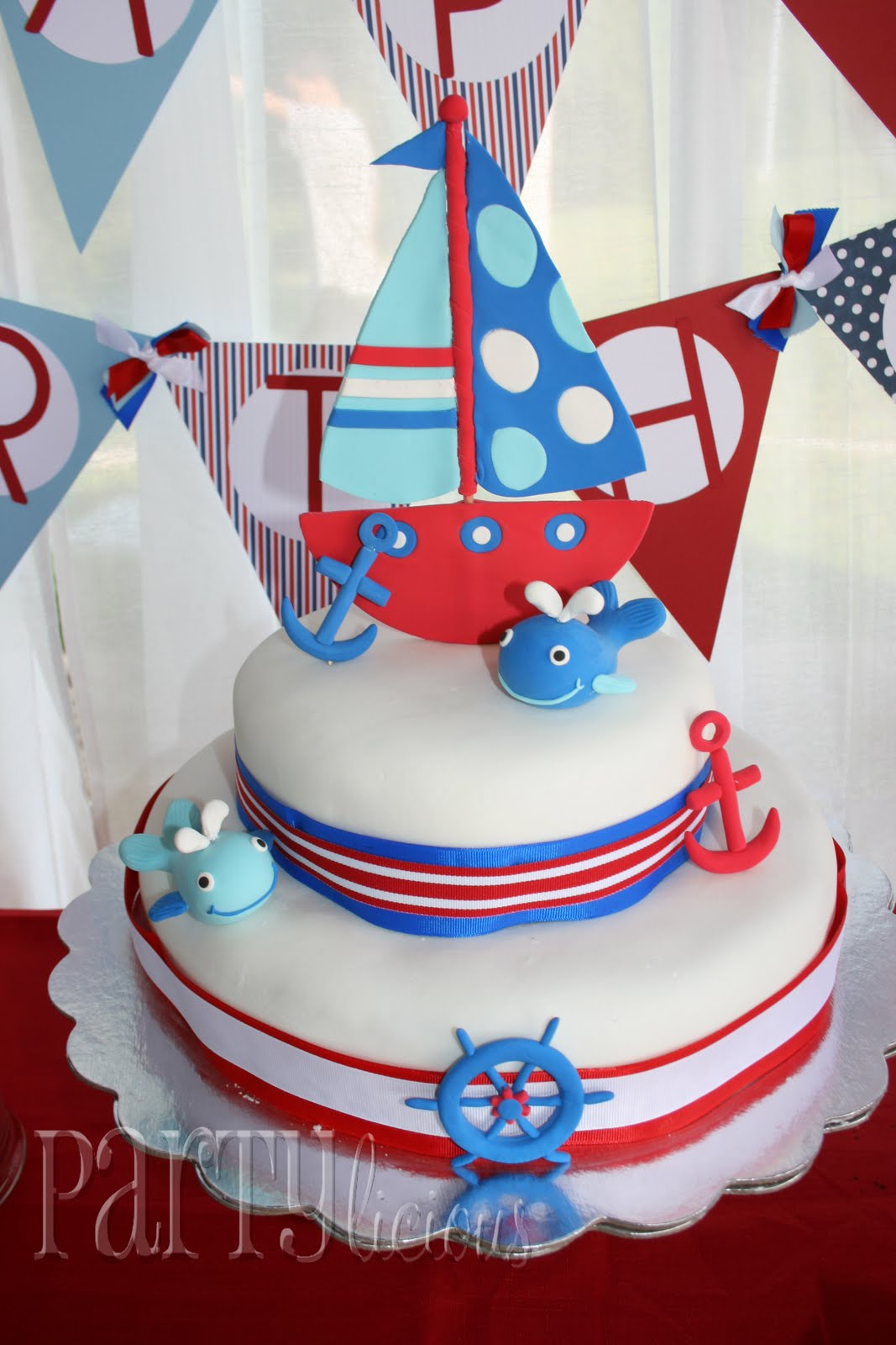 partylicious nautical 1st bday bash