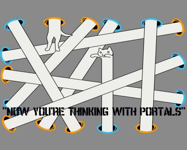 Long Cat - Thinking With Portals