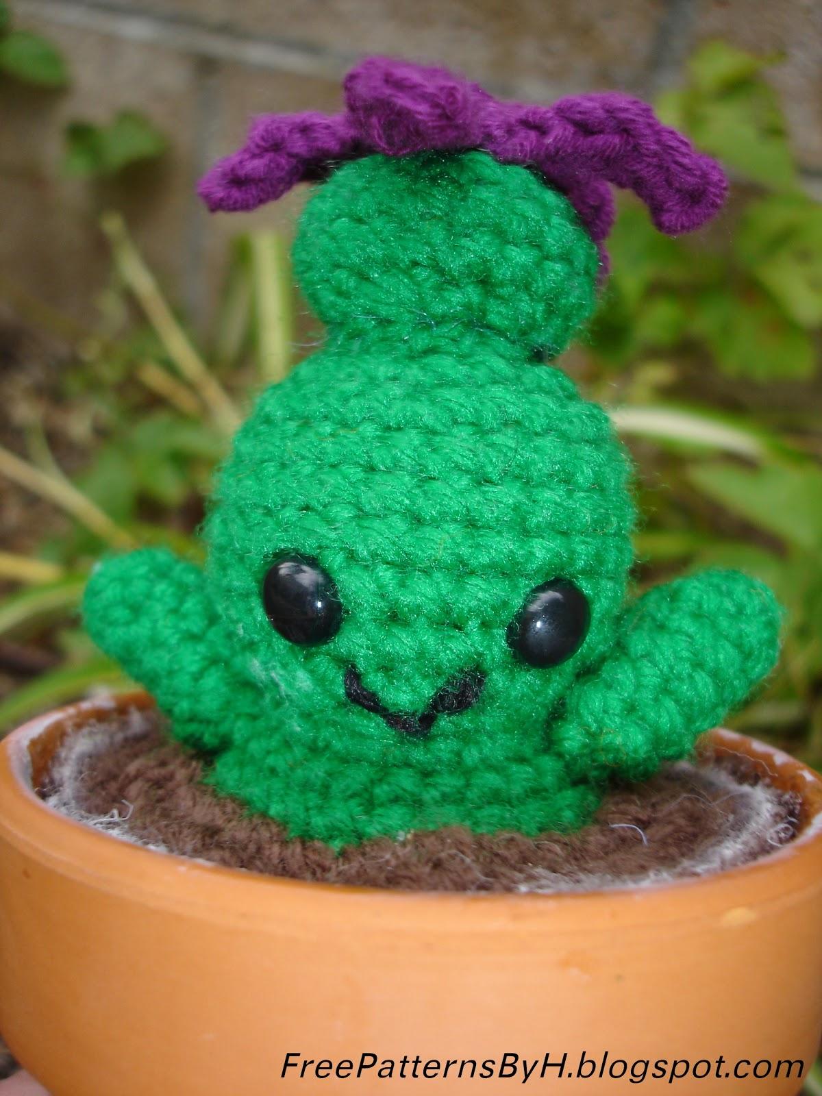 Free Patterns by H: Masaka, the Amigurumi Cactus