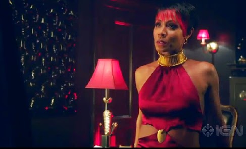 Jada Pinkett Smith Fish Mooney Gotham premiere episode photos
