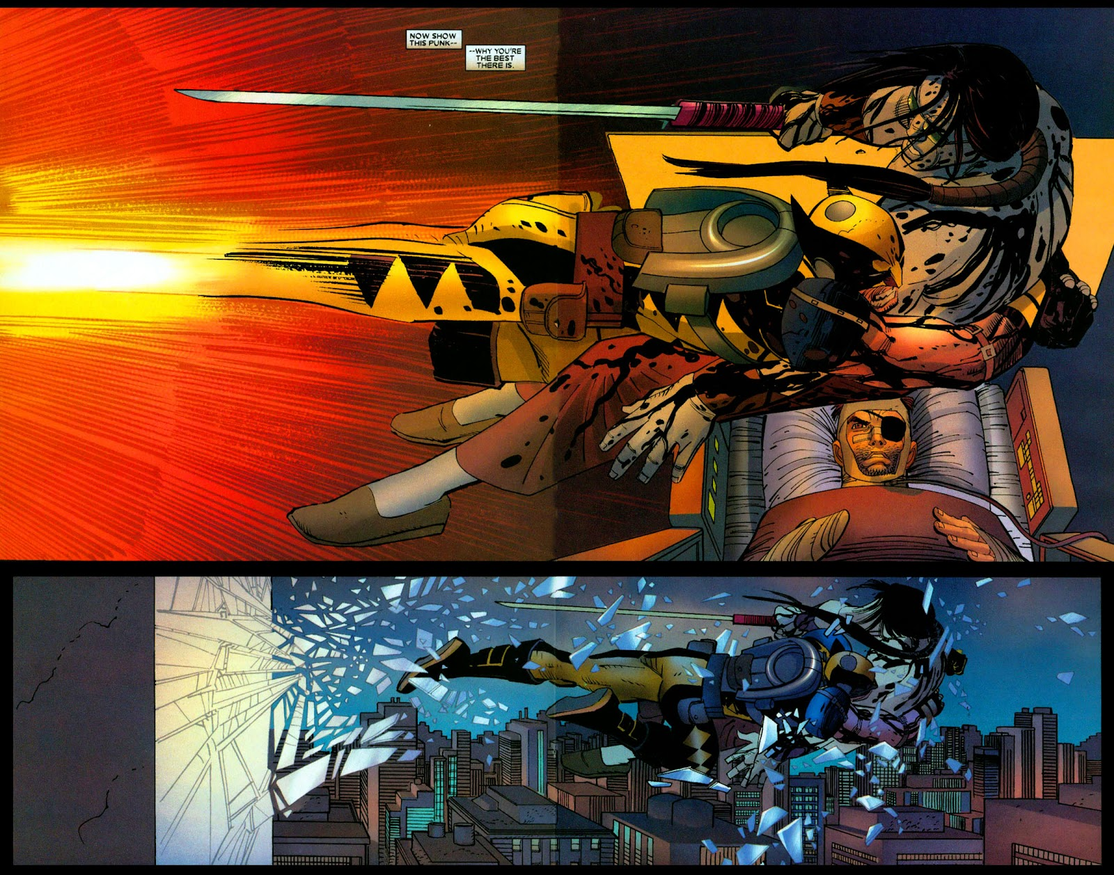 Read online Wolverine (2003) comic -  Issue #31 - 9