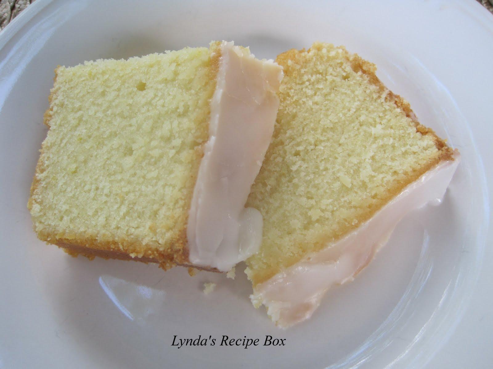 Box Lemon Pound Cake
