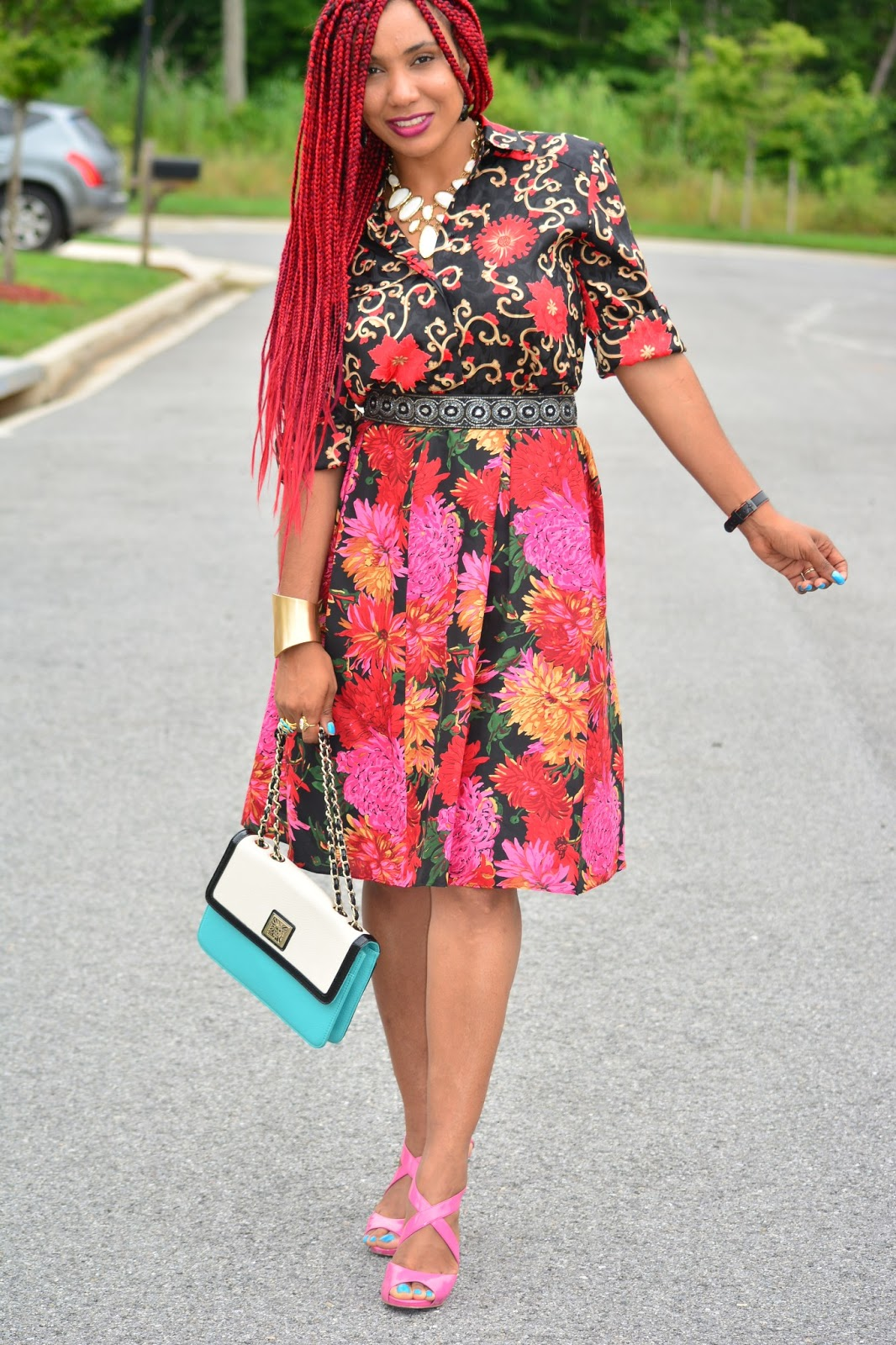 skirt styles for 2013 milly styles floral top floral skirt