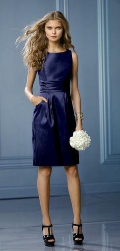 Vestido Azul, Dama de Honor.