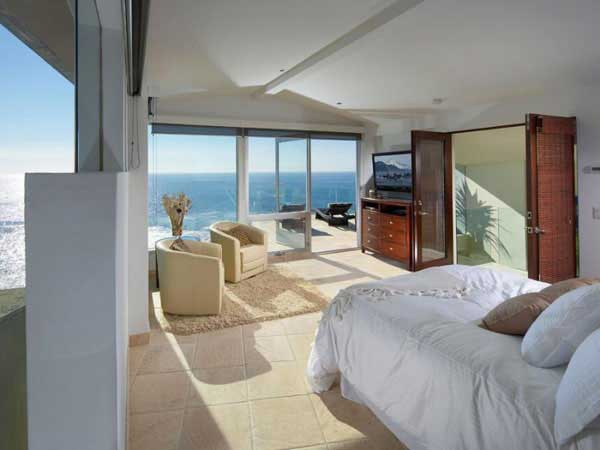 Photo of another bedroom in oceanfront villa