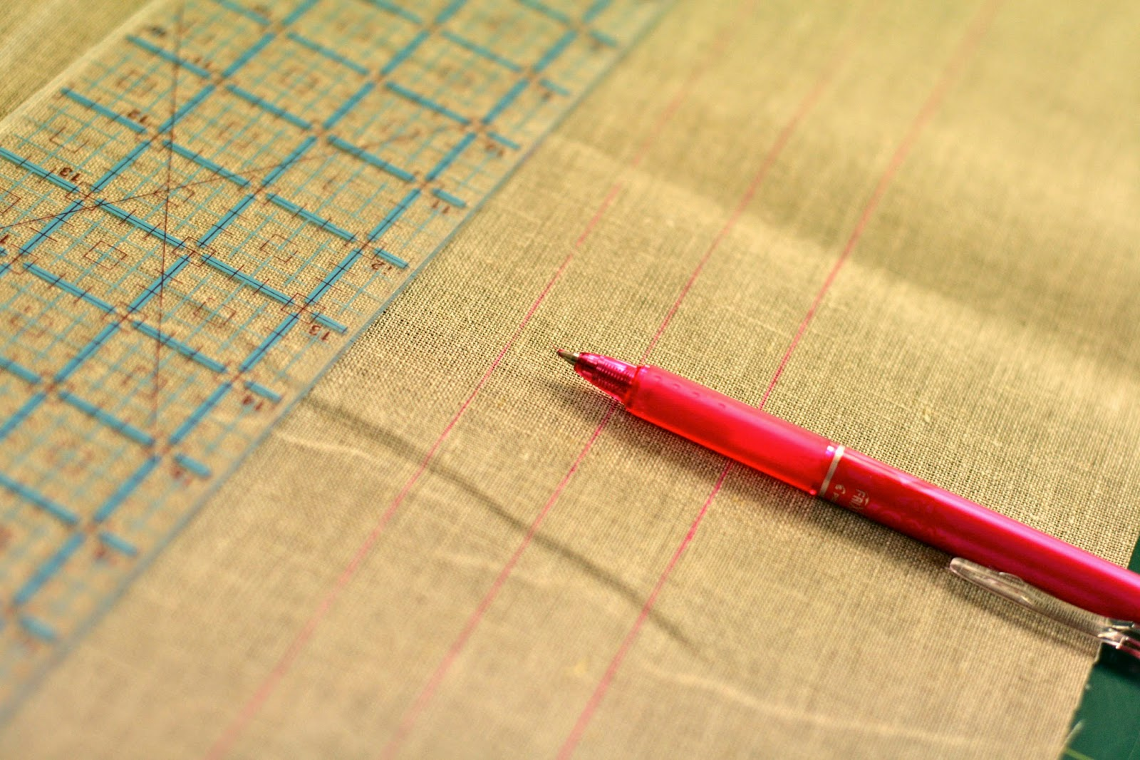 how to get pen marks out of fabric