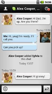 skype for android, now support 3g call