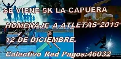 5k La Capuera (Maldonado, 12/dic/2015)