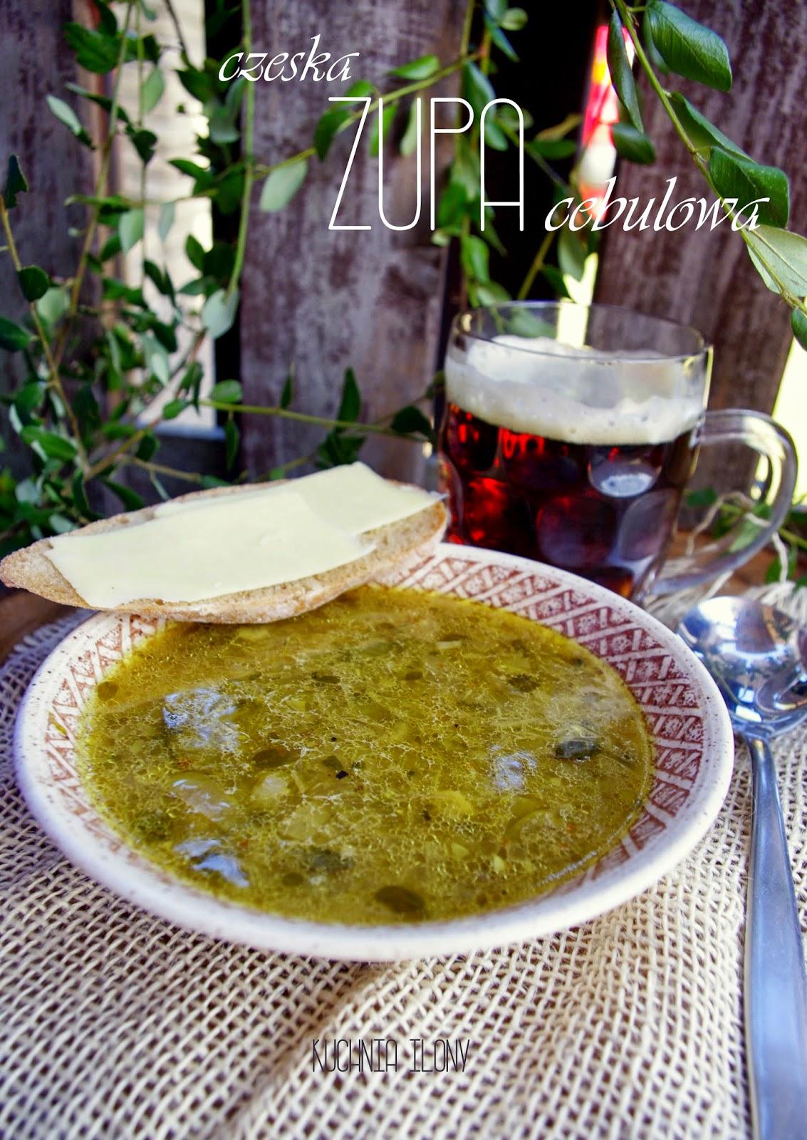 kuchnia czeska, zupa cebulowa, radio plus, kuchnie świata czeska zupa cebulowa