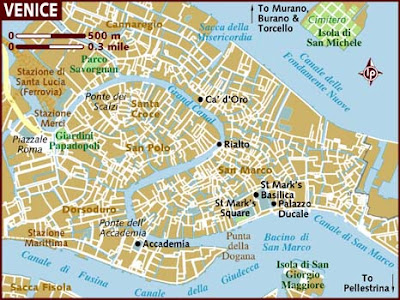 Mappa Regione Venice